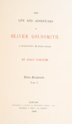 Life and Adventures of Oliver Goldsmith, The