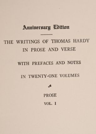 Writings [Anniversary Edition]