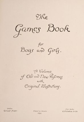 Games Book for Boys and Girls, The