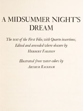 Midsummer-Night's Dream, A