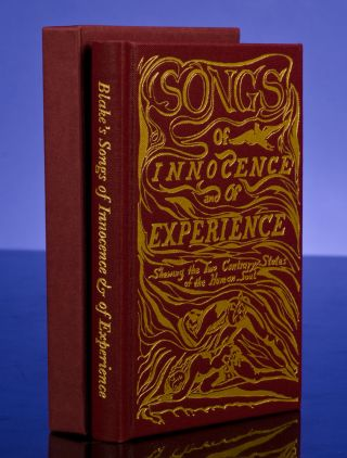 Songs of Innocence & of Experience. William BLAKE.