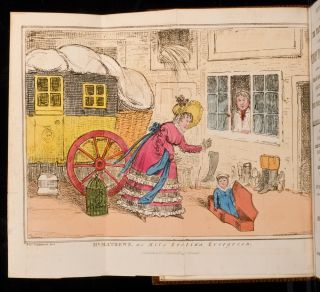 Sketches of Mr. Mathews's Celebrated Trip To Paris, Robert CRUIKSHANK, Charles MATHEWS