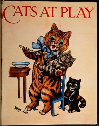 Cats at Play. Louis WAIN.
