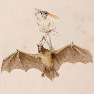 Felix on the Bat;. Nicholas Felix WANOSTROCHT, George Frederick WATTS, illustrator.