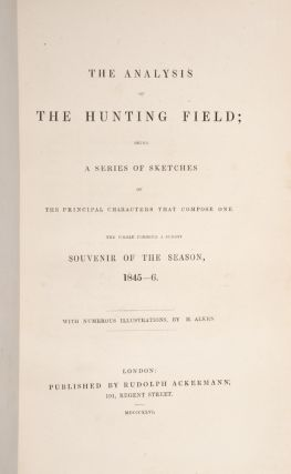 Analysis of the Hunting Field, The