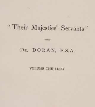 """Their Majesties' Servants"""
