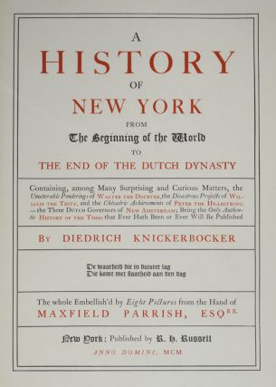 History of New York, A