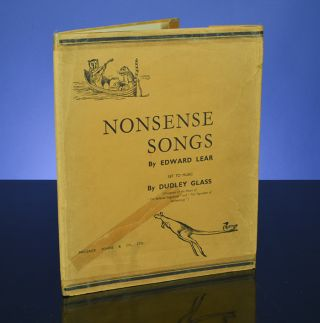 Nonsense Songs. Edward LEAR, Dudley GLASS