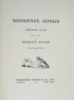 Nonsense Songs