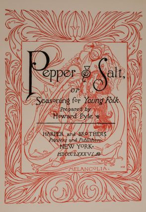 Pepper & Salt, or Seasoning for Young Folk