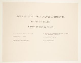 Fores's Hunting Accomplishments