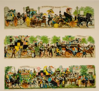 The Road to the Derby. George CRUIKSHANK, illustrator.