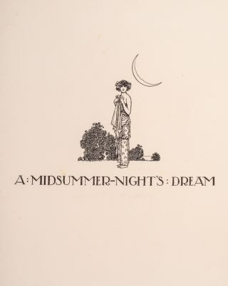 Shakespeare's Comedy of A Midsummer-Night's Dream