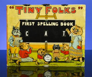 Tiny Folks First Spelling Book. Louis WAIN.