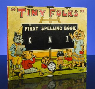 Tiny Folks First Spelling Book