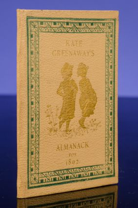 Almanacks for 1883[-1895] [And:] Kate Greenaway's Almanack & Diary for 1897