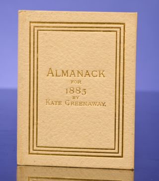 Almanack for 1885. Kate GREENAWAY.