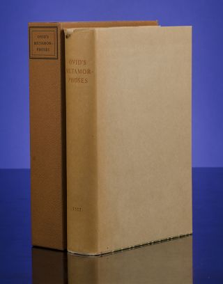 Ovid's Metamorphoses. OVID, Sir Samuel GARTH, Hans ERNI, Engraver, LIMITED EDITIONS CLUB.