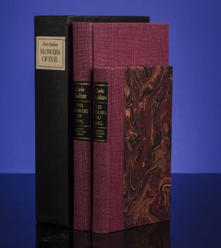 Flowers of Evil, The. Charles BAUDELAIRE, Pierre-Yves TREMOIS, Illustrator, James LAVER, , LIMITED EDITIONS CLUB.