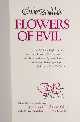 Flowers of Evil, The.