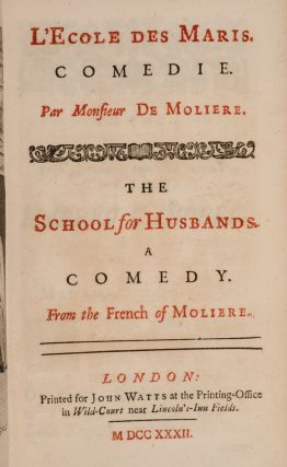 Select Comedies of Mr. De Moliere.
