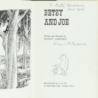 Betsy and Joe. Ernest H. SHEPARD.