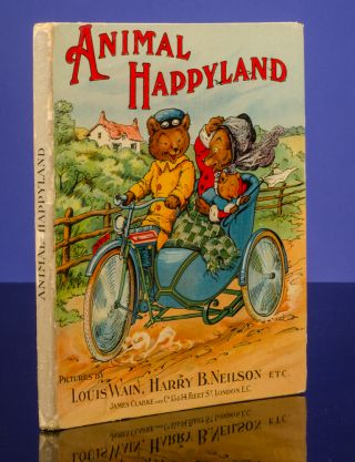 Animal Happyland. Louis WAIN, A. W. RIDLER
