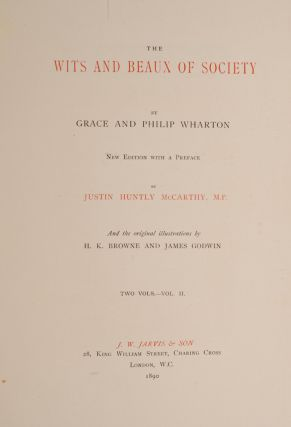 Wits and Beaux of Society, The