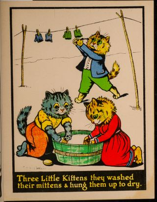 Three Little Kittens Painting Book