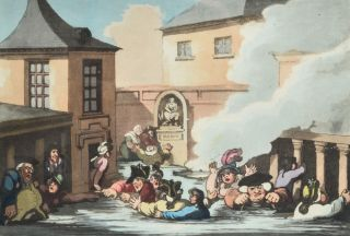 Comforts of Bath, The. Thomas ROWLANDSON