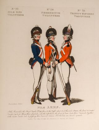 Loyal Volunteers of London & Environs, Thomas ROWLANDSON