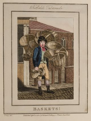 Description of the Plates, Representing the Itinerant Traders of London in Their Ordinary Costume;. William Marshall CRAIG.