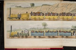 Coloured Views on the Liverpool and Manchester Railway