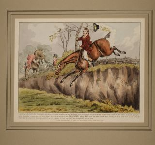 Sporting Discoveries or The Miseries of Hunting in a series of seven plates,