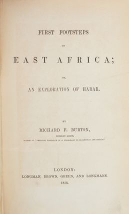 First Footsteps in East Africa;