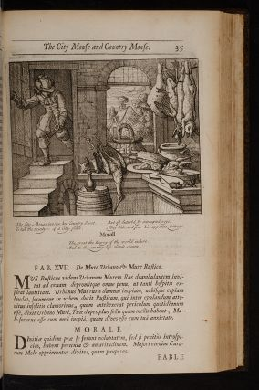 Æsop's Fables with His Life: in English, French and Latin. Newly Translated.