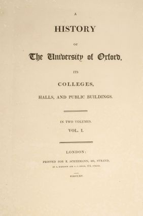 History of the University of Oxford, A