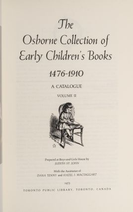 Osborne Collection of Early Children's Books 1476-1910, The