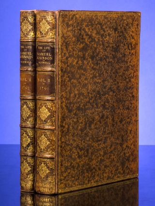 The Life of Samuel Johnson, LL.D. James BOSWELL, Samuel JOHNSON, RIVIÈRE, SON.