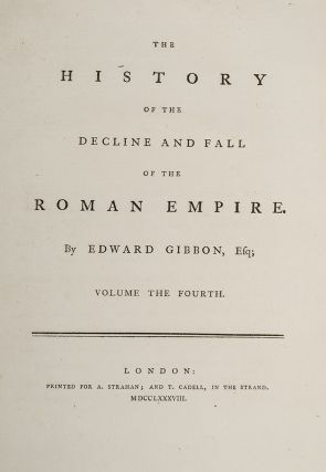 History of the Decline and Fall of the Roman Empire, The