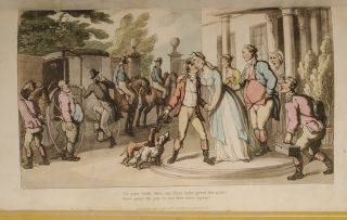 Dance of Life, The. Thomas ROWLANDSON, William Combe