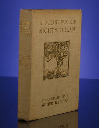 Midsummer-Night's Dream, A. Arthur RACKHAM, William SHAKESPEARE