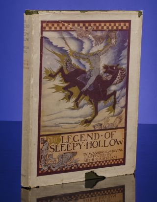 Legend of Sleepy Hollow, The. Arthur RACKHAM, illustrator, Washington Irving.