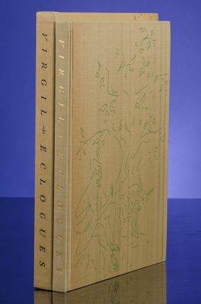 The Eclogues. VIRGIL, LIMITED EDITIONS CLUB, VERTÈS, C. S. CALVERLEY, Publius Virgilius Maro
