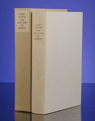 Last Days of Pompeii, The. Edward BULWER-LYTTON, LIMITED EDITIONS CLUB, Giovanni MARDERSTEIG, printer, Kurt CRAEMER, illustrator.