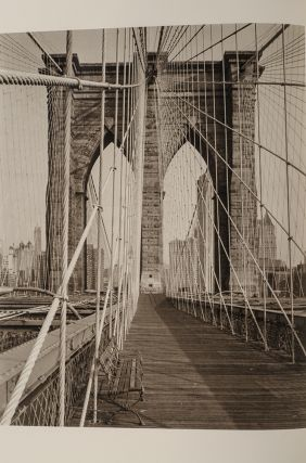 Bridge, The. Hart CRANE, LIMITED EDITIONS CLUB, Richard BENSON, photographer, Malcolm COWLEY,...