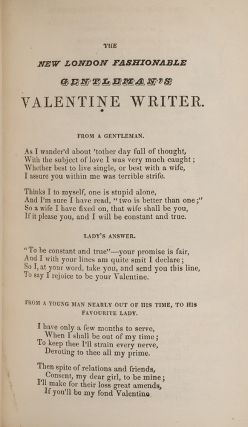 Gentleman's Valentine Writer, The [and] The Lady's Valentine Writer