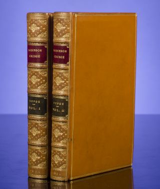 Life and Adventures of Robinson Crusoe, The. Daniel DEFOE, binder MORRELL.