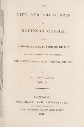 Life and Adventures of Robinson Crusoe, The.