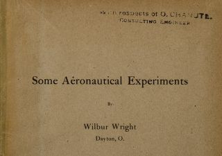 Some Aeronautical Experiments